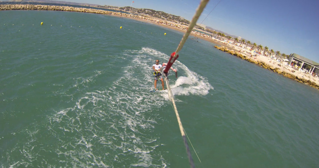 Kitesurf à Marseille