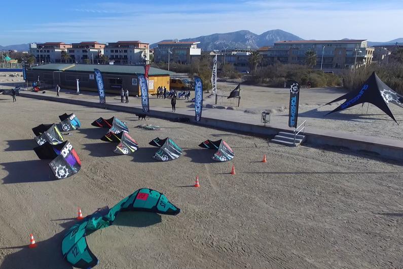 kitesurf slingshot en test à marseille