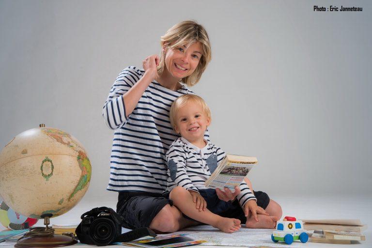 Rencontre avec GLOBETREKKEUSE : une Maman hors du commun !