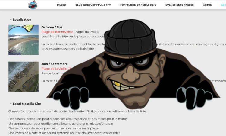 Massilia Kite Association : voleurs de Photos